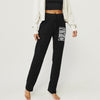 NYC Fleece Regular Fit Trouser For Ladies-Black-NA9926