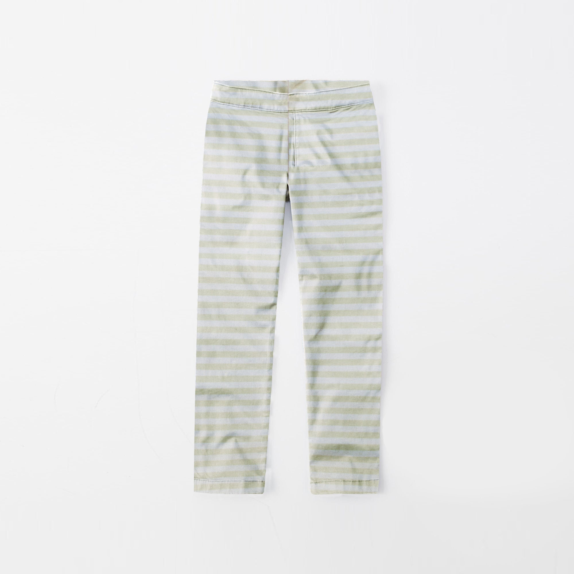 brandsego - Zara Man Slim Fit Flannel Trouser For Kids-White With Stripes-SP340