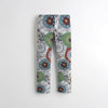 Next Straight Fit Cotton Trouser For Kids-All Over Printed-BE8768