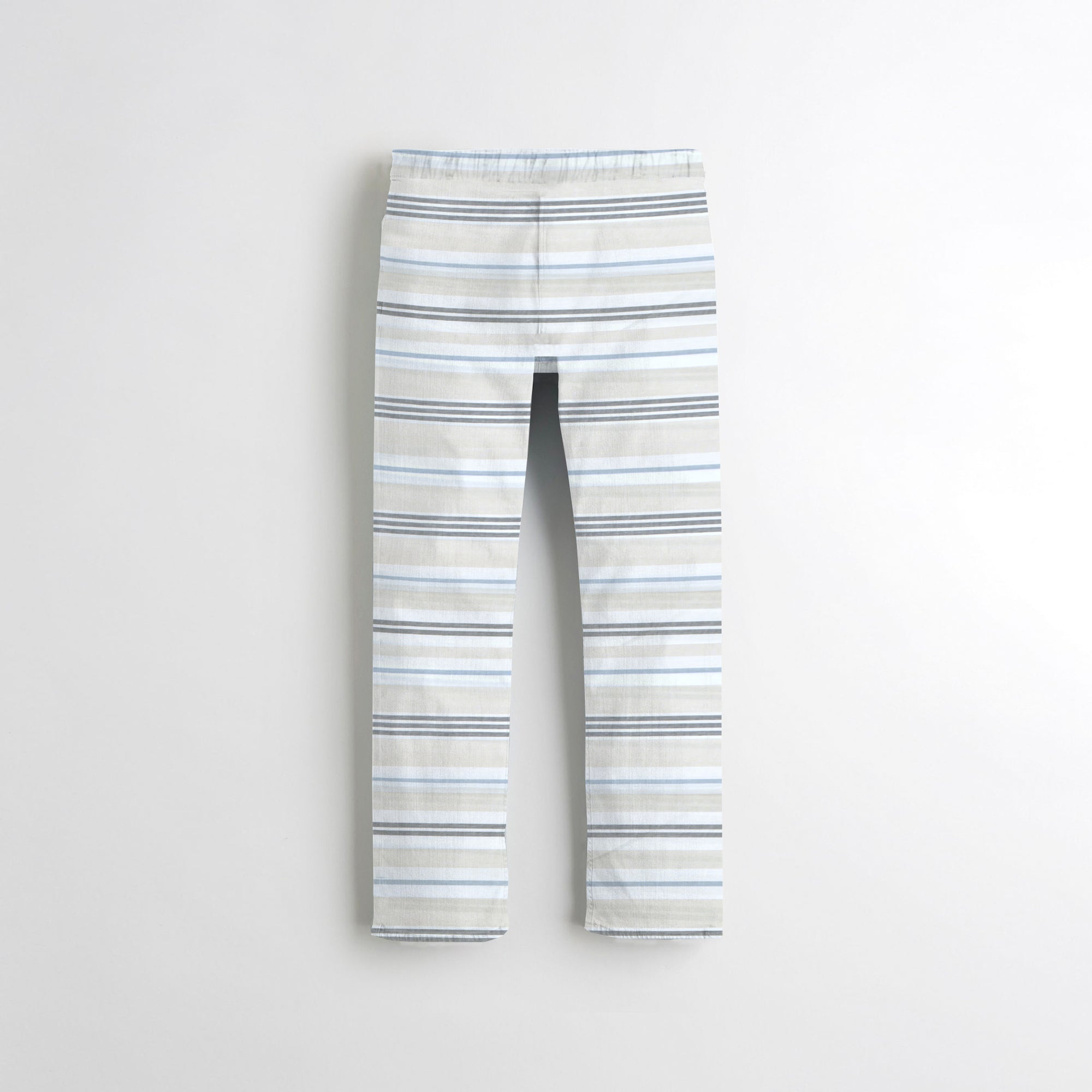 Next Straight Fit Cotton Trouser For Kids-Striped-SP090
