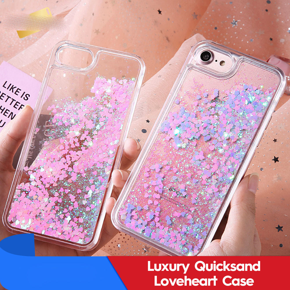 Quicksand Lovers Heart iPhone Case-NA7612