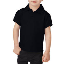 Dickies Polo Shirt For Boys-Black-BE2272