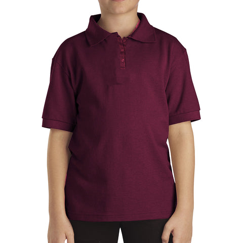 Dickies Polo Shirt For Men- Light Maroon-BE792