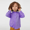 Karat Button Down Casual Shirt For Boys-Purple Melange-NA8629
