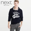 Next Pull Over Hoodie For Men-Dark Navy-NA236