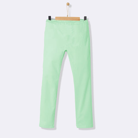 Kids Soft Sleeping Trouser-Sea Green-NA1046