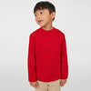 Kukri Sports Crew Neck Long Sleeve Shirt For Kids-NA9877