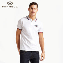 Farrell Polo Shirt For Men Cut Label-White-BE2470