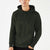 M&S Pullover Terry Fleece Hoodie For Men-Olive Green-BE3808