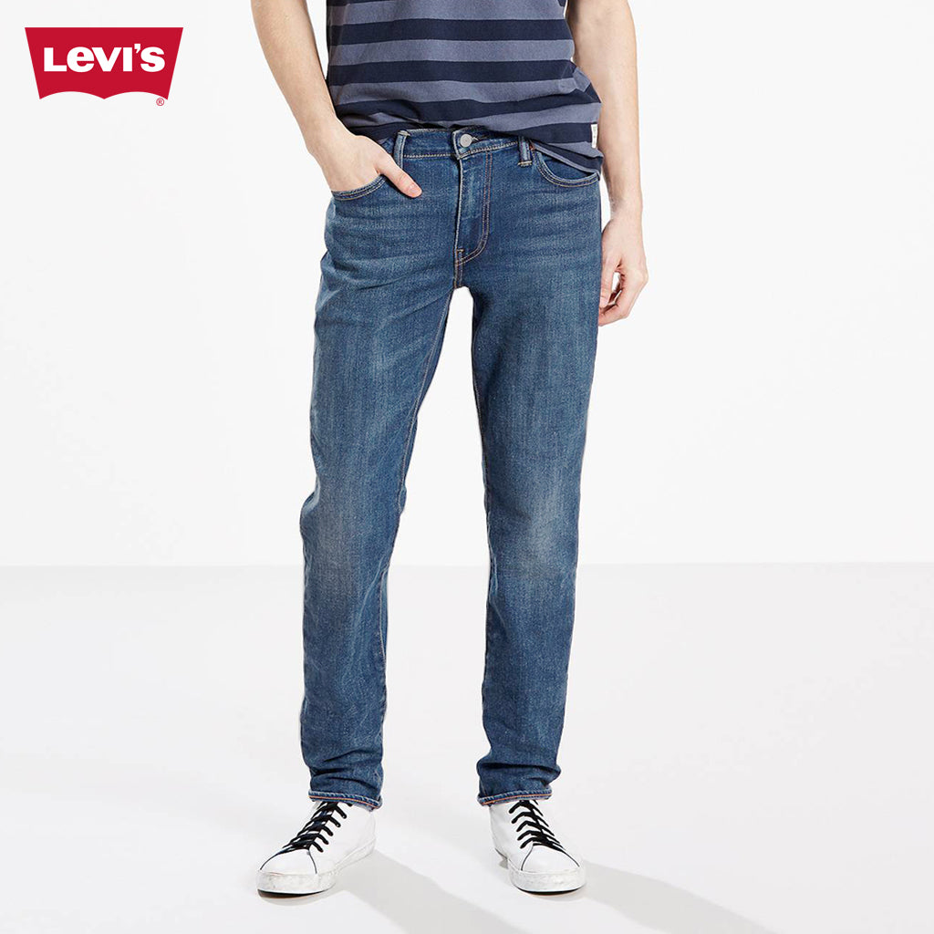LEVI'S Slim Fit Light Faded Stretch Denim For Men-Light Blue-Levis 10