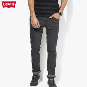 LEVI'S Slim Fit Stretch Denim For Men-Dark Grey-Levis 16
