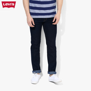 LEVI'S Slim Fit Stretch Denim For Men-Navy-Levis 17