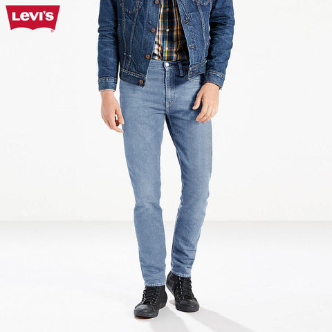 LEVI'S Slim Fit Stretch Denim For Men-Light Sky-Levis 15