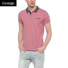 George Polo Shirt For Men Cut Label-Pink Melange-BE2489