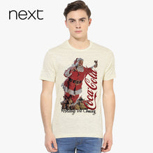 Next Crew Neck T Shirt For Men Cut Label-Off White with Black Melange-BE2584