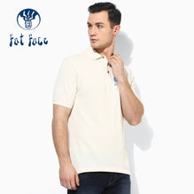 Fat Face Polo For Men Cut Label-Off White-BE2524