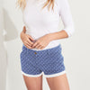 Love Denim Short For Ladies-Blue-NA8802
