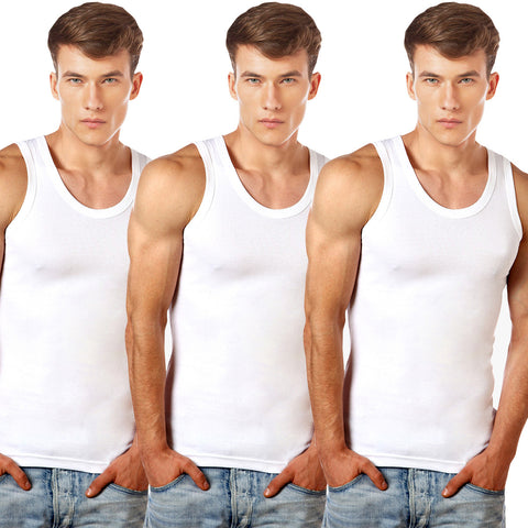 Pack Of 3 Men's U.S Polo Innerwear Vest
