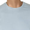 brandsego - M&S Crew Neck Tee Shirt For Men-Sky-BE4471