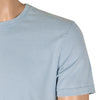 M&S Crew Neck Tee Shirt For Men-Sky-BE4471