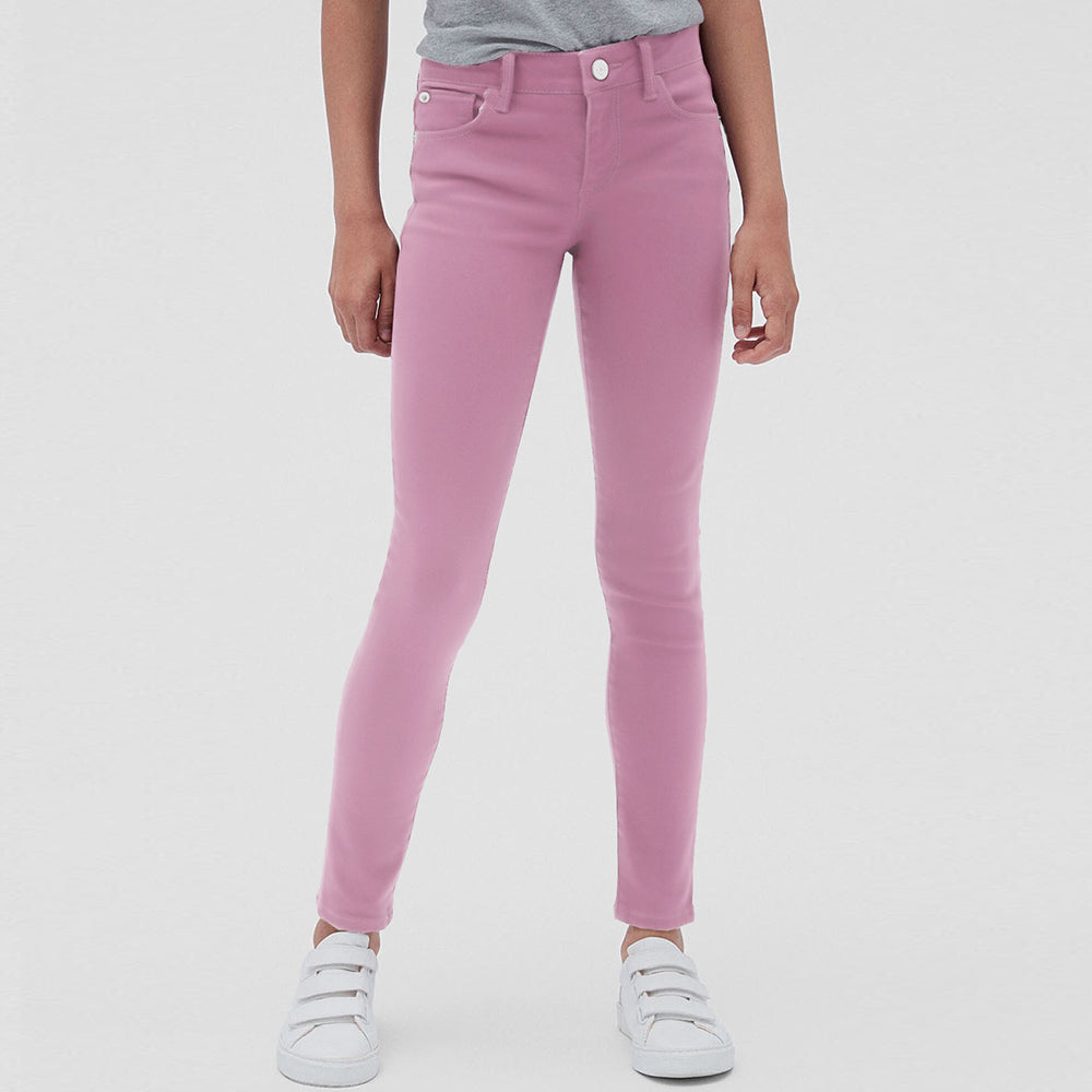 Mango Slim Fit Jeans Denim For Kids-Pink-NA11347