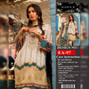 Maria B Lawn Collection 3 Piece Un-stitch Suit For Ladies-NA8841