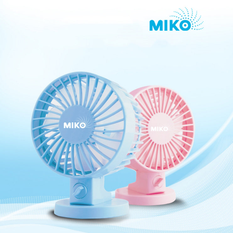 Miko Korea Mini USB Dual Fan-NA6618
