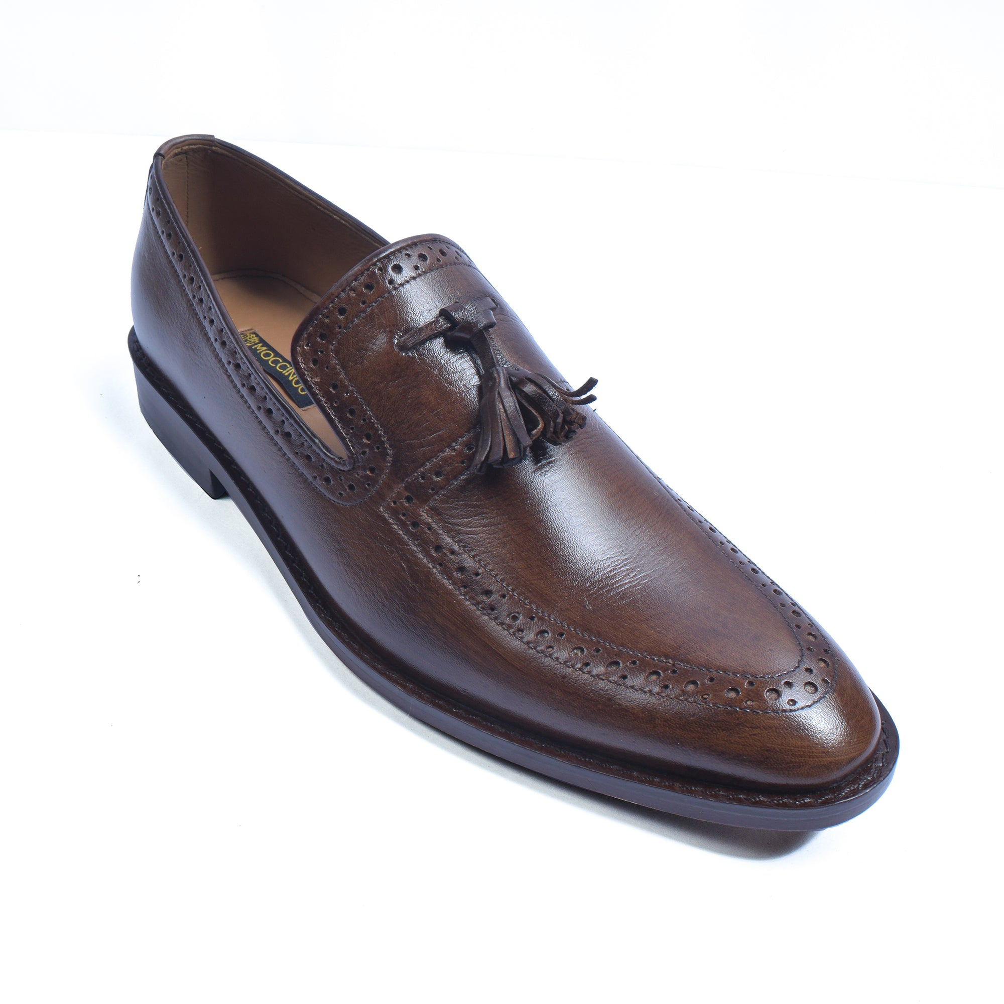 Moccinoo MENS LUXURY SHOES FINEST LEATHER-NA9286