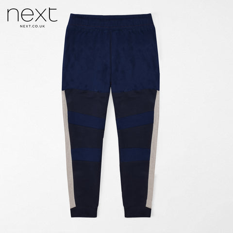 N.Y.C Fleece Jogger Trouser For Men Cut Label-Dark Blue & Dark Navy-NA915