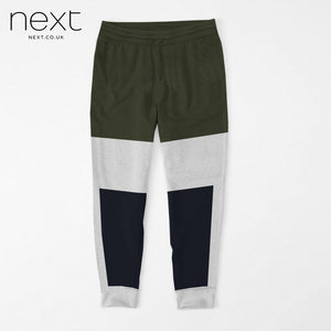 NEXT Fleece Jogger Trouser For Men Cut Label-Dark Olive, Grey & Navy-BE4374