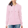 NEXT Full Zipper Thermal Hoodie For Ladies-Light Pink-BE3843