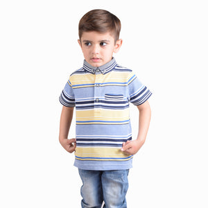 NEXT Polo Shirt For Kids-Stripe-BE4355
