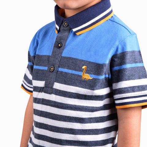 NEXT Polo Shirt For Kids-Stripe-BE4360