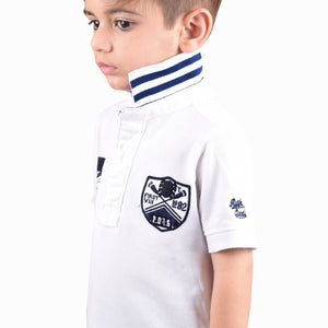 NEXT Polo Shirt For Kids-White-BE4362