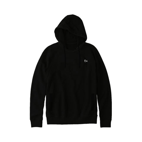 NEXT Pullover Stylish Hoodie For Ladies-Black-BE4282