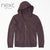 NEXT Terry Fleece Zipper Hoodie For Men-Dark Burgundy-NA619