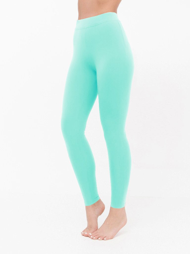 NK Leggings For Women-Cyan Green-NA11070