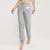 NK Fleece Slim Fit Trouser For Ladies-Grey-NA10312