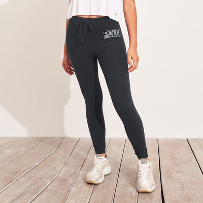 NYC Fleece Slim Fit Jogger Trouser For Ladies-Light Black-NA9929