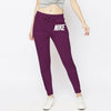 NK Fleece Slim Fit Jogger Trouser For Ladies-Maroon-NA10310