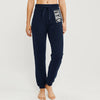 NYC Fleece Slim Fit Trouser For Ladies-Dark Navy-NA10318