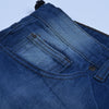 brandsego - Nancy &Denim Cropped Slim Fit Non Stretch Grinded Denim For Men-(S20)-Blue Faded & Grinded-NA9413