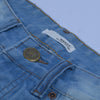 brandsego - Nancy &Denim Slim Fit Non Stretch  Grinded Denim For Men-(S19)-Sky Blue Faded-NA9410