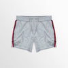 New Look Terry Fleece Short For Ladies-Grey-NA8785