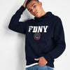 New York Popular Fleece Pullover Hoodie For Men-Dark Navy-NA9860