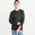 Next Crew Long Sleeve Fleece Sweatshirt For Men-Black Melange-NA6347