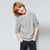 Next Crew Neck Fleece Sweatshirt For Kids-Light Grey-NA6623