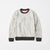 Next Crew Neck Fleece Sweatshirt For Kids-Light Grey Melange-NA6604