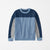 Next Crew Neck Fleece Sweatshirt For Kids-Multi Panels-NA6624