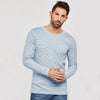 Next Crew Neck Long Sleeve Tee Shirt For Men-All Over Striper-NA7755